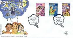 Aruba 1998 FDC Kinderzegels E 78