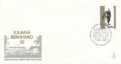 Aruba 1987 FDC Jubileumzegel, 50 jaar huwelijk E 7
