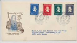 Nederland 1952 FDC v. Riebeeck met getypt adres  E7