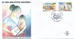 Aruba 1999 FDC Nationale Bibliotheek E 83