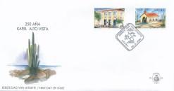 Aruba 2000 FDC 75-jarig bestaan van de John Esman Bank en het 250-jarig bestaan van de kapel Alto Vista E 88