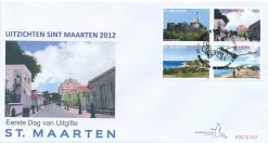 Sint Maarten 2012 FDC Landschappen E 17