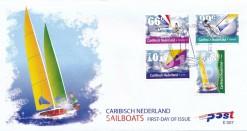 Caribisch Nederland  2012 FDC Zeilsport E 7
