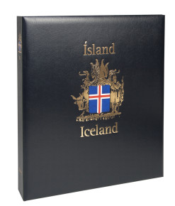 Davo Luxe postzegelalbum IJsland I 1873-1989