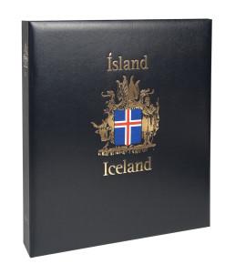 Luxe band postzegelalbum  IJsland I