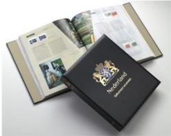 Luxe band postzegelalbum  Nederland geillustreerd verzamelen I