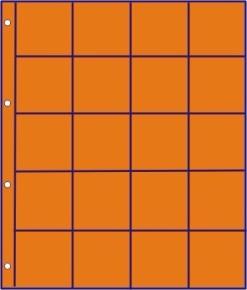 Hartberger GMO 20 R oranje bladen -10x-