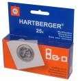 Hartberger Munthouders zelfklevend Vierkant 24 mm -25x-