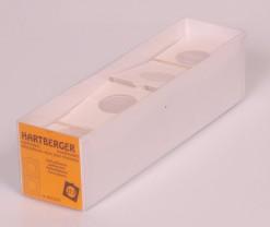 Hartberger Munthouders zelfklevend  35 mm -100x-