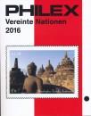 Philex catalogus Verenigde Naties   Editie 2016