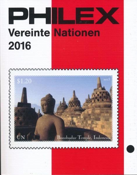Philex catalogus Verenigde Naties   Editie 2016  1