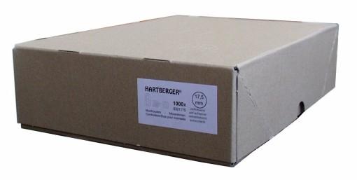 Hartberger Munthouders om te nieten  35 mm -1000x- 1
