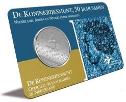 Nederland 2004 5 Euro koninkrijksmunt coincard