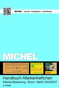 Michel Handboek postzegelboekjes Geallieerde bezetting van Bund en Berlijn  2016-2017 - 3e Editie -