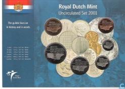 Nederland 2001 Beatrix UNC jaarset