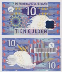 Nederland 1997 10 Gulden bankbiljet Ijsvogel