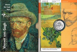 Nederland 2003 van Gogh 5 euro zilver, proof in blister