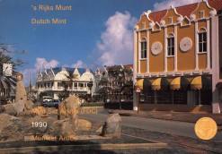 Aruba 1990 Beatrix FDC jaarset