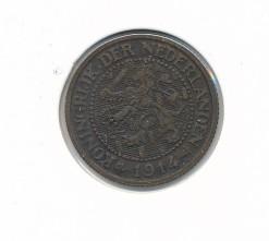 Nederland 1914 2,5 cent Wilhelmina