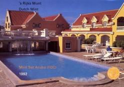 Aruba 1992 Beatrix FDC jaarset