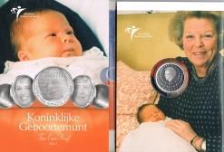 Nederland 2004 Geboortemunt 10 euro zilver, proof in blister