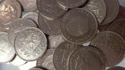 Nederland 2,5 kilogram rijksdaalders nikkel 250 stuks