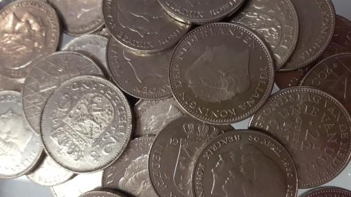 Nederland 2,5 kilogram rijksdaalders nikkel 250 stuks 1