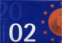 Nederland 2002 Beatix FDC jaarset