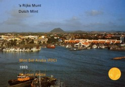 Aruba 1993 Beatrix FDC jaarset