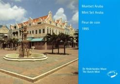 Aruba 1995 Beatrix FDC jaarset