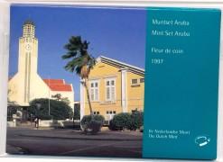 Aruba 1997 Beatrix FDC jaarset