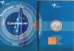 Nederland 2004 Europamunt 5 euro zilver, proof in blister