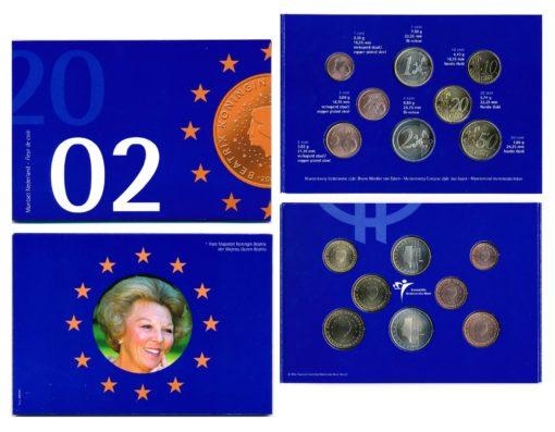 44633 Nederland 2002 Beatrix FDC jaarset