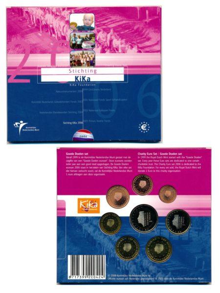 44646 Nederland 2006 KiKa BU goede doelen set