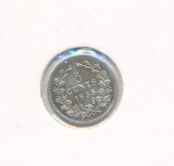 Nederland 1855 5 cent Willem III
