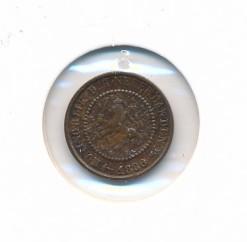 Nederland 1886 0,5 cent Willem III