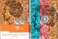 Nederland 2004 Koninkrijksmunt 5 euro zilver, proof in blister