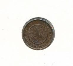 Nederland 1894 0,5 cent Wilhelmina