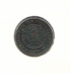 Nederland 1900 0,5 cent Wilhelmina