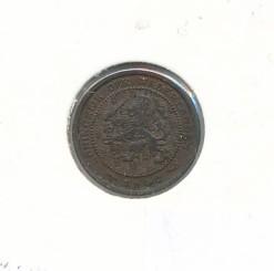 Nederland 1906 0,5 cent Wilhelmina