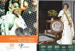 Nederland 2005 Jubileummunt 10 euro zilver, proof in blister