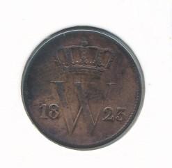 Nederland 1823 Utrecht 1 cent Willem I