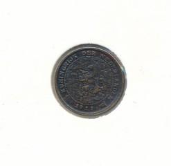 Nederland 1917 0,5 cent Wilhelmina