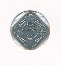 Nederland 1936 5 cent Wilhelmina