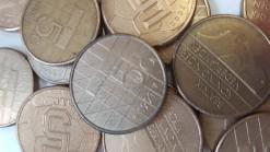 Nederland 925 gram 5 gulden munten 100 stuks