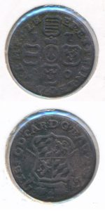 Prinsbisdom Luik 1750 liard
