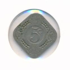 Nederland 1914 5 cent Wilhelmina