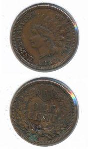 Verenigde Staten 1883 1 cent