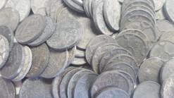 Nederland 1941 - 1944 zinken centen 100 stuks