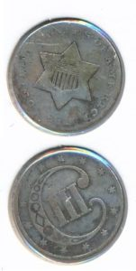 Verenigde Staten 1851 3 cent